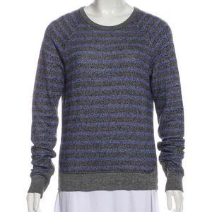 Alexander Wang T Crewneck Striped Sweatshirt